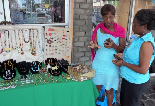 Jewelry Made in SVG will be on exhibit and available for sale...